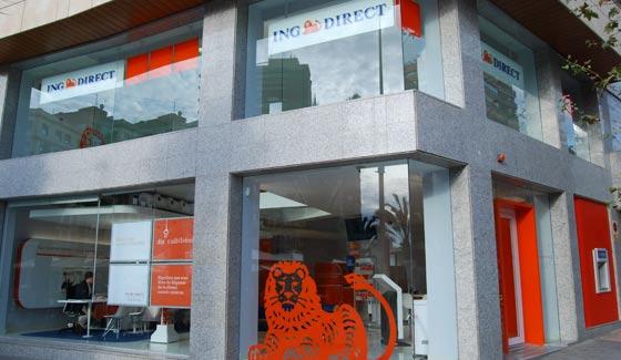 Oficinas y cajeros de ing en alicante for Oficinas bankia alicante