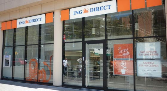 Oficinas ing direct en barcelona of 216 for Oficina fisica ing