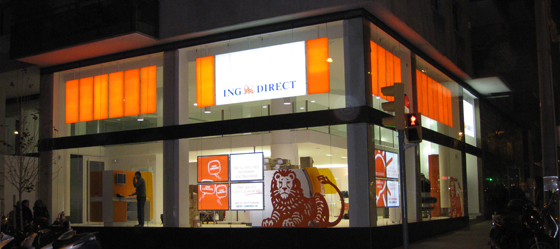 su oficina naranja ing direct barcelona of 63
