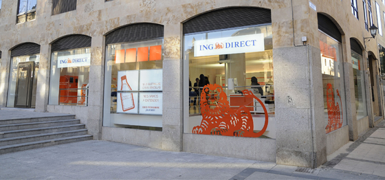 Su oficina naranja ing salamanca of 72 for Oficinas ing direct barcelona