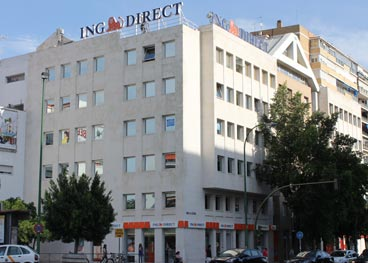 Su oficina naranja ing direct sevilla of 32 for Oficina ing sevilla