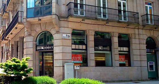 Oficinas y cajeros de ing en pontevedra for Oficinas ing direct barcelona